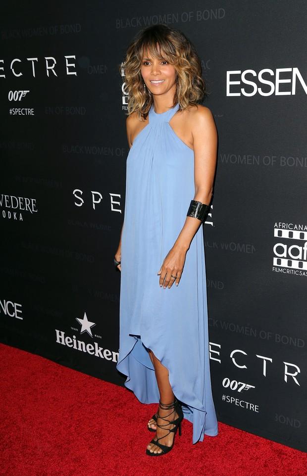 Halle Berry em evento em Los Angeles, nos Estados Unidos (Foto: David Livingston/ Getty Images)