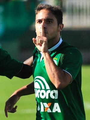 Chapecoense x Marcílio Dias gol Régis Wescley (Foto: Agência RBS)