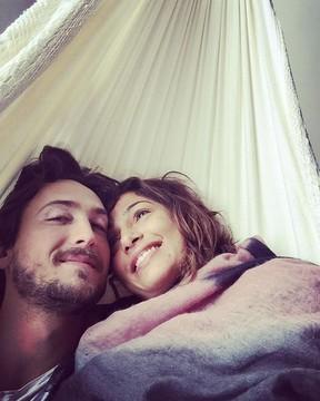 Igor Angelkorte e Camila Pitanga (Foto: Reprodução/Instagram)