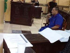 Acusado disse que não sabia que 'Edmilson' estava armado e ia cometer o crime.  (Foto: Divulgação/TJPA)