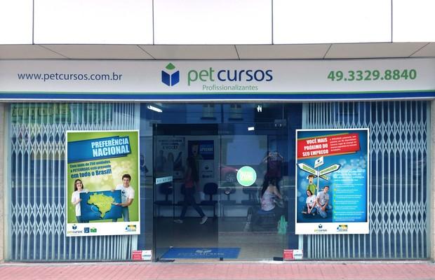 Unidade da rede Petcursos (Foto: Divulgação)