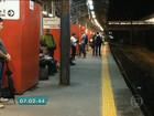 Circulação da linha Rubi da CPTM continua lenta após temporal