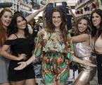 Nayara Ratacasso, Thaynara OG, Ingrid Guimarães, Taciele Alcolea e Foquinha   Jonas Vaz/Teresa filmes