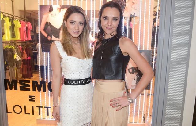 Lolita Zurita Hannud e Patricia Birman (Foto: Divulgação)