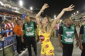 Grazi Massafera na Sapucaí (Foto: Marcos Ferreira/ Foto Rio News)
