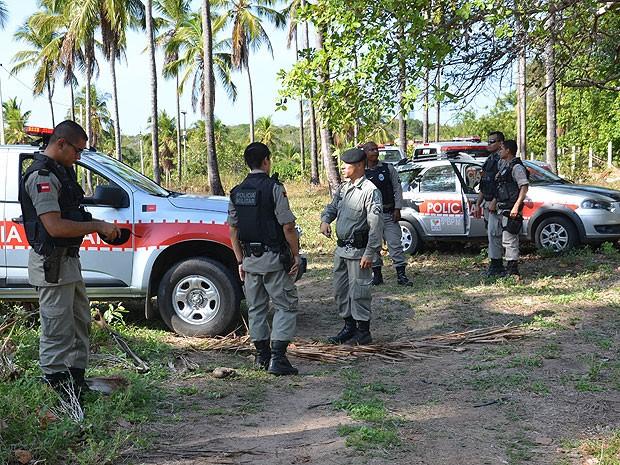 Polícia Militar resgata filha raptada de sargento (Foto: Walter Paparazzo/G1)