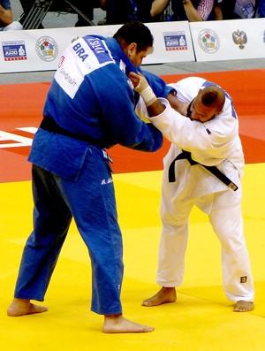 Rafael Silva luta judô contra Roy Meyer medalha de bronze (Foto: Raphael Andriolo)