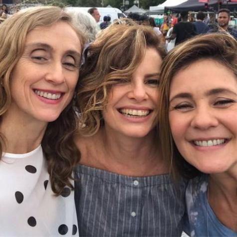 Betty Gofman, Debora Bloch e Adriana Esteves (Foto: Arquivo pessoal)