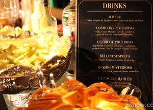 Festa conta com uma grande variedade de drinks (Foto: Pedro Curi/TV Globo)