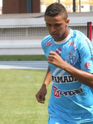 Pablo, zagueiro do Paysandu (Foto: Marcelo Seabra/O Liberal)