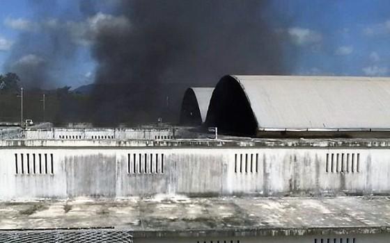 Rebelião em presídio no Ceará (Foto: Reprodução)