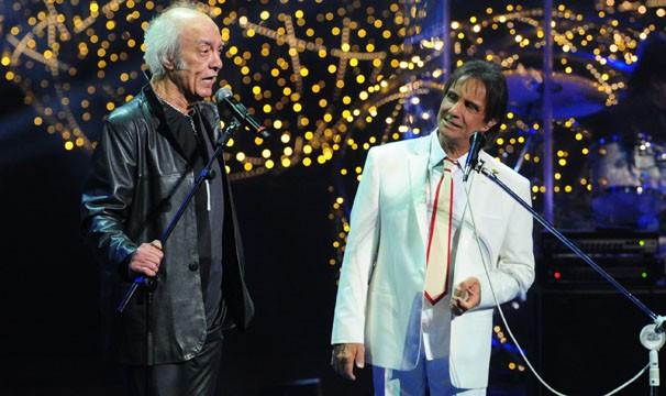 Erasmos Carlos não podia faltar ao show (Foto: Renato Rocha Miranda / TV Globo)
