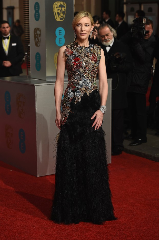 Cate Blanchett no BAFTA (Foto: Getty Images)