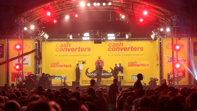 Cash Converters Players Championship tem grande público em suas edições (Foto: PDC/Divulgação)