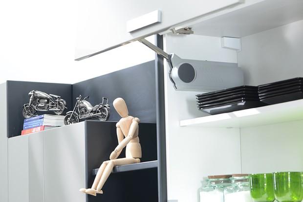 Cozinha com decoração (Foto: Favo móveis/ Divulgação)
