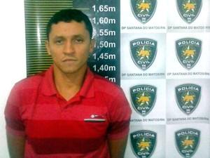 Adevaldo Santos de Oliveira foi preso em São Rafael (Foto: Divulgação/Polícia Civil do RN)
