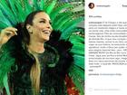 Ivete Sangalo comenta expectativa para desfile na Grande Rio: 'Mágico'