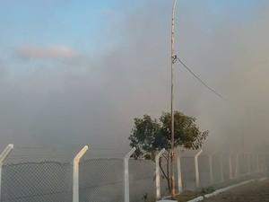 Oliveira, Fogo, incêndio (Foto: Marcelo Praxedes/Divulgação)