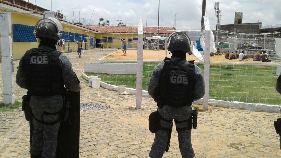 Após concurso, agentes reforçarão segurança nas penitenciárias do estado (Foto: Divulgação/Sejuc)