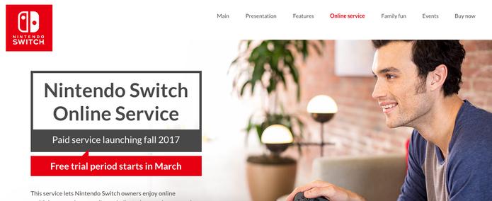 Switch terá online pago como np PS4 e Xbox One (Foto: Divulgação/Nintendo)