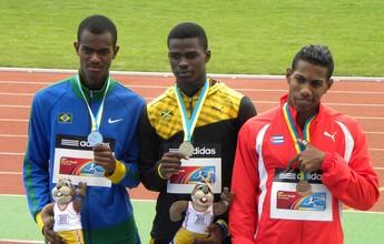 Prata nos 200m, brasileiro conquista único pódio do país no Mundial sub-17
