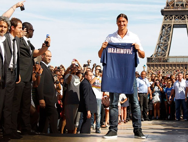 ibrahimovic paris saint germain  (Foto: Reuters)