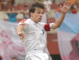 Na Copa Espírito Santo 2008, meia Andrezinho defendeu o Rio Branco-ES (Foto: Fábio Vicentini/A Gazeta)