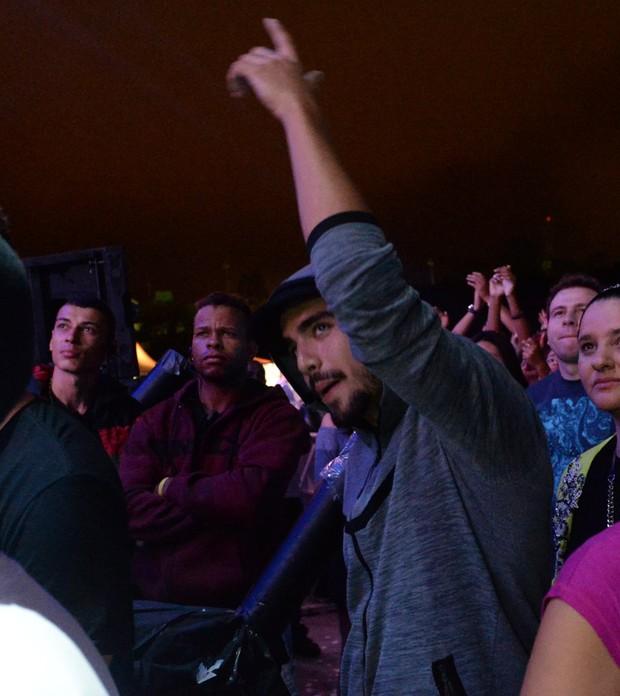 Caio Castro no Lollapalooza (Foto: Francisco Cepeda/Agnews)