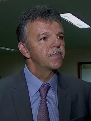 Gilmar Rinaldi Brasil Paraguai (Foto: Reprodução / SporTV)
