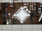 Drogas e celulares são achados em celas da Cadeia Pública de Bambuí