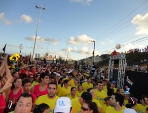A Meia Maratona de Natal é a principal prova de corrida de rua do Rio Grande do Norte (Foto: Augusto Gomes/GLOBOESPORTE.COM)