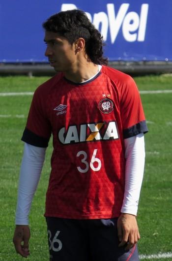 Luciano Cabral Atlético-PR (Foto: Fernando Freire)
