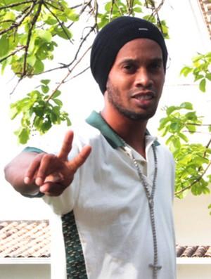 Ronaldinho Gaúcho entrevista (Foto: Mauricio Paulucci)