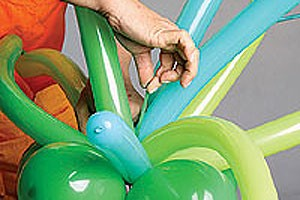 Arranjo floral de balões 6 (Foto: Crescer)