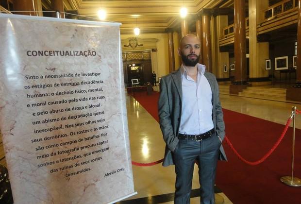 Alessio Ortu, o autor do projeto (Foto: divulgação)