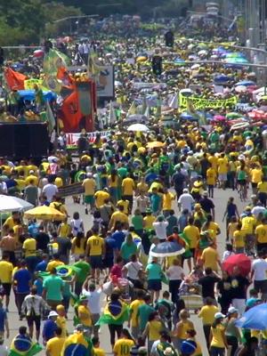 30 mil tomam a Esplanada dos Ministérios, segundo a PM (TV Globo)