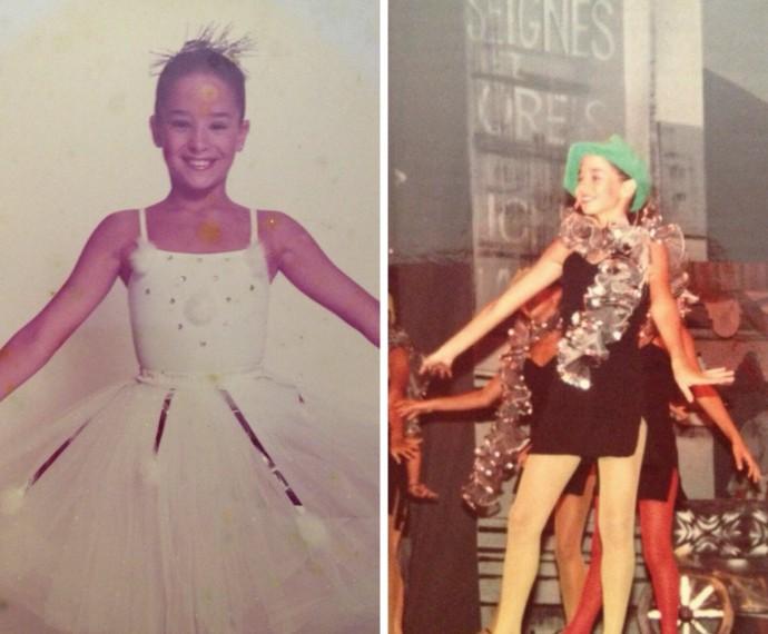 Atriz é apaixonada por dança desde pequena.  (Foto: Arquivo pessoal)