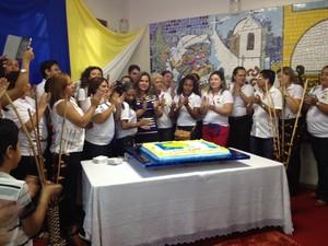 Centro de Altas Habilidades celebrou 9 anos de atuação no Amapá (Foto: Fabiana Figueiredo/G1)