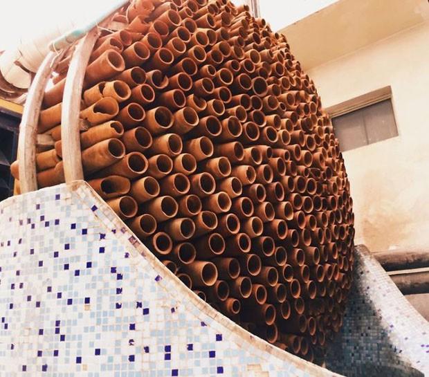 Indianos criam ar-condicionado que funciona sem eletricidade (Foto: Divulgação)