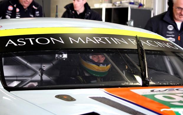 primeiros testes de Bruno Senna no WEC (Foto: Simon O'Gorman / MF2)