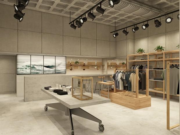 A nova loja da Foxton no Shopping Leblon conta com projeto de Ricardo Campos  (Foto: Divulgação)