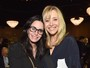 Courteney Cox e Lisa Kudrow se reencontram em evento