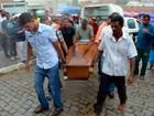Enterrado professor achado morto em porta-malas de carro incendiado