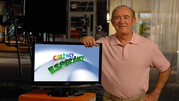 Renato Aragão - Campanha Criança Esperança (Foto: TV Globo /  João Cotta)