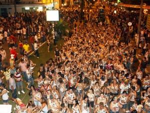 Blocos durante carnaval de 2011, em Vilhena (Foto: Francisco Aclaildo/Divulgação)
