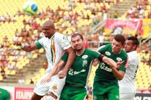 Sampaio x Luverdense Série B (Foto: Paulo de Tarso Jr./Imirante.com)