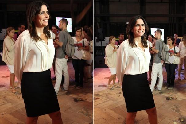 Malu Mader é Rosemere na novela da Globo das sete (Foto: Ana Carolina Reis/Globo)