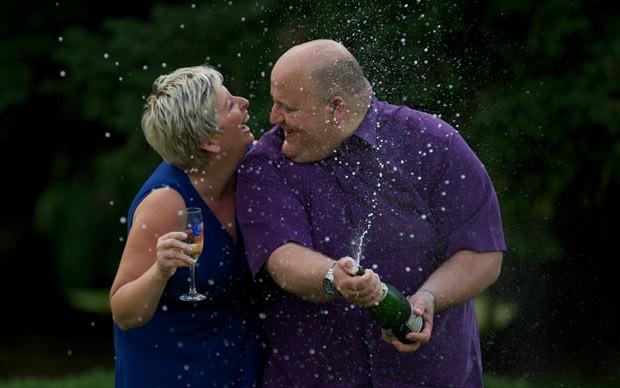 Adrian e Gillian Bayford (Foto: AFP)