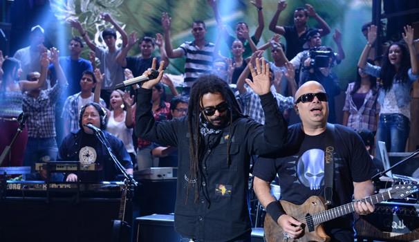 O Rappa (Foto: Rede Globo/Zé Paulo Cardeal)