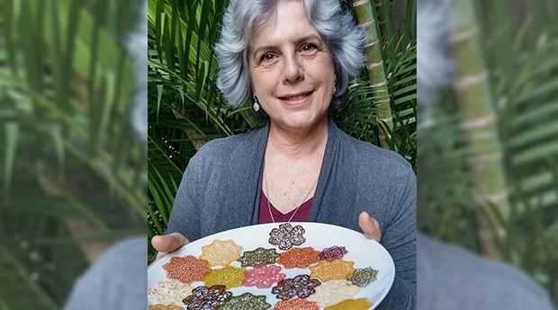 A empreendedora Maria Vilma, da Flor Gourmet (Foto: Divulgação)